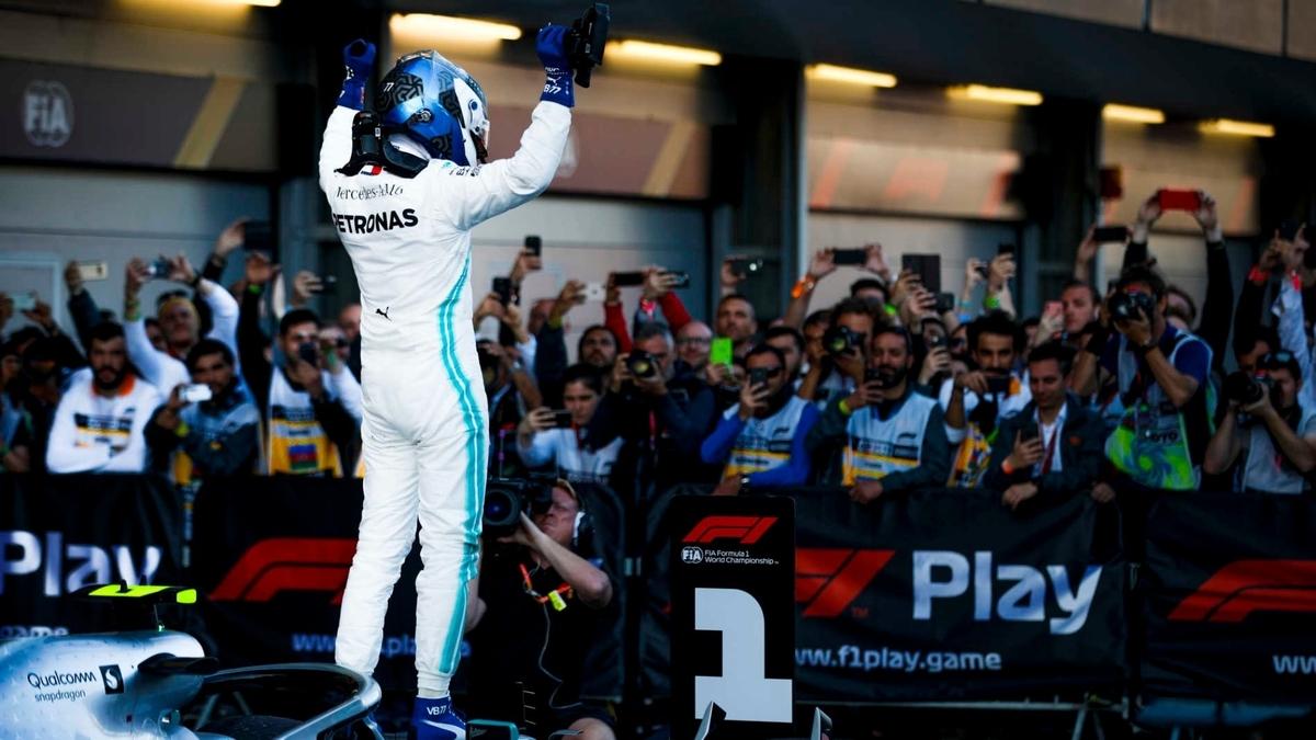F1 アゼルバイジャングランプリ 2019 勝者ボッタス