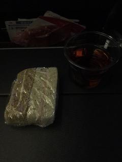 JAL JL9 夜食