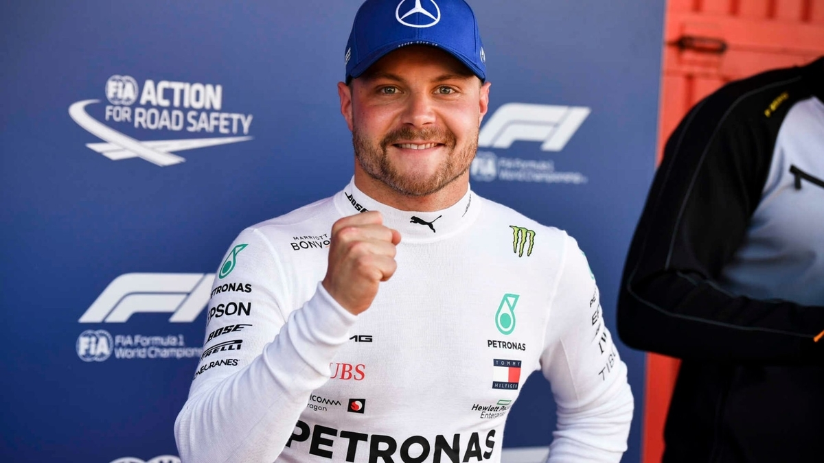 F1 スペイングランプリ 2019 予選 PPはボッタス