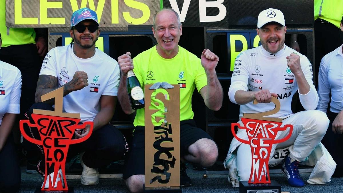 F1 スペイングランプリ 2019 勝者ハミルトン