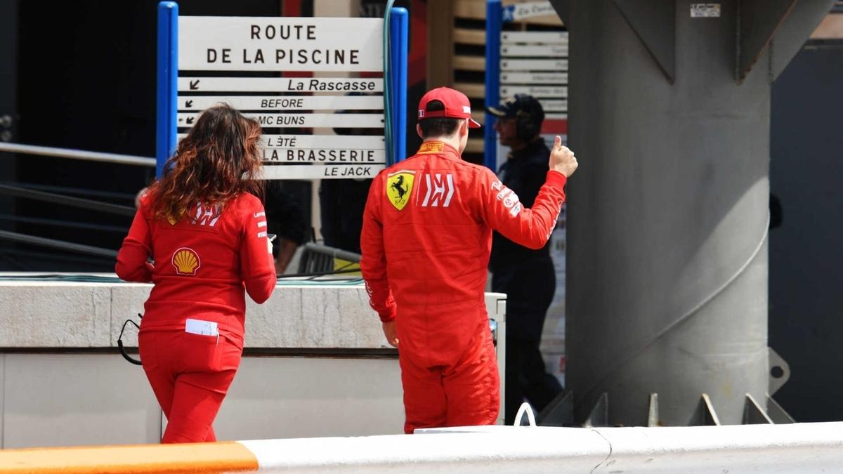 F1 モナコグランプリ 2019 ルクレールQ1落ち