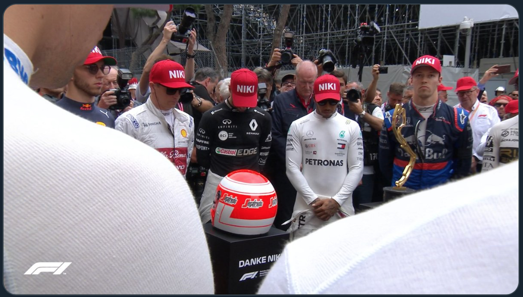 F1 モナコグランプリ 2019 オープニング