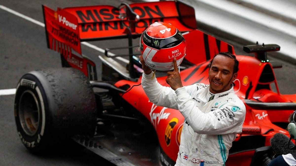 F1 モナコグランプリ 2019 勝者ハミルトン