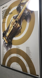 F1 1000th GP Limited Poster