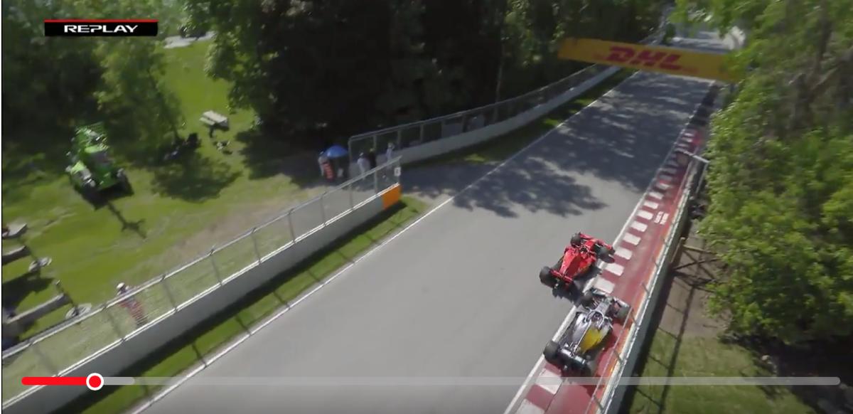 F1 カナダグランプリ 2019 Lap48 ターン3 & 4