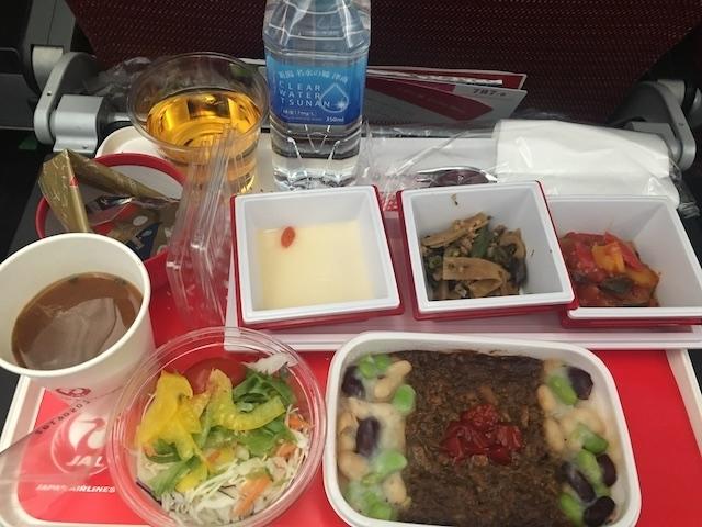 JAL JL407 食事