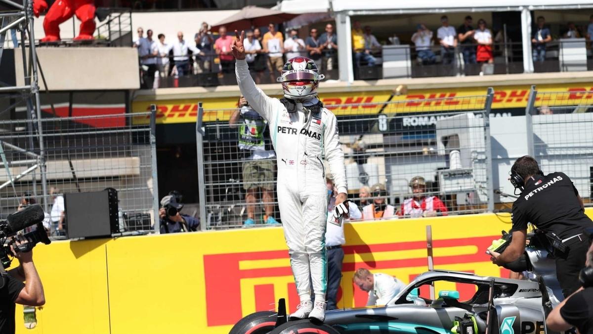 F1 フランスグランプリ 2019 予選結果 PPはハミルトン