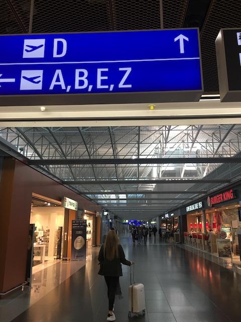 フランクフルト空港 JAL サクララウンジ 場所