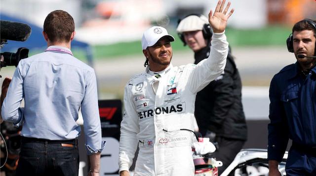 F1 ドイツグランプリ 2019 PPはハミルトン