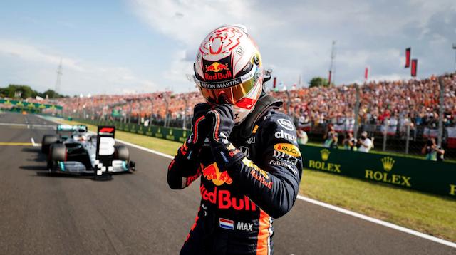 F1 ハンガリーグランプリ 2019 予選結果 フェルスタッペンがキャリア初のPP