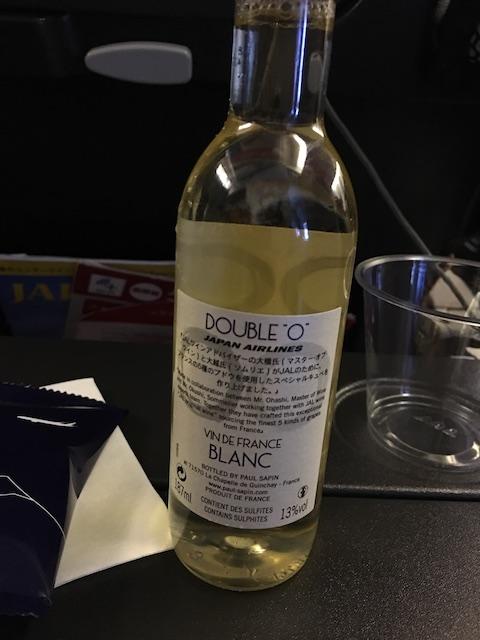 JAL JL009 白ワイン