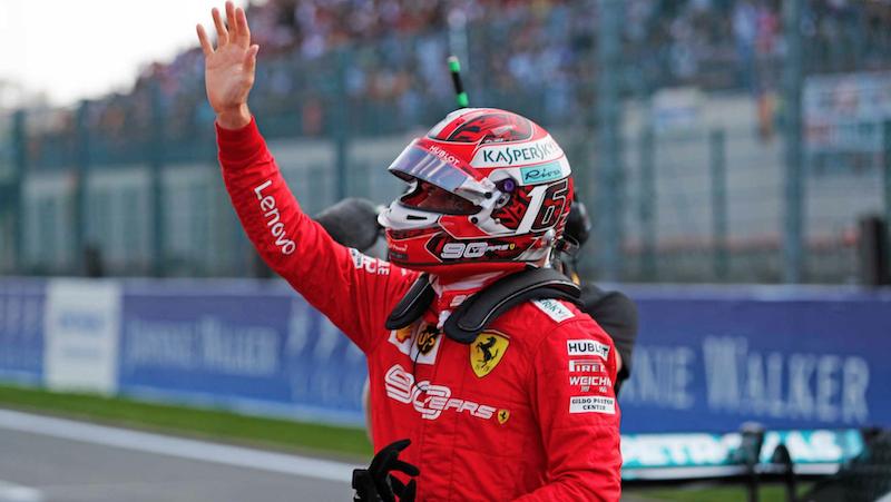 F1 ベルギーグランプリ 2019 ルクレールがPP