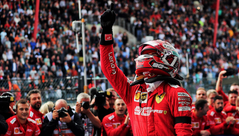 F1 ベルギーグランプリ 2019 ルクレールが初優勝