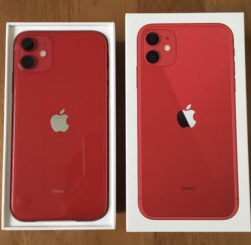 iPhone 11 開封