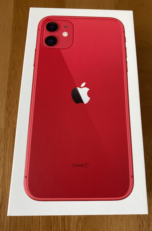 iPhone 11 到着