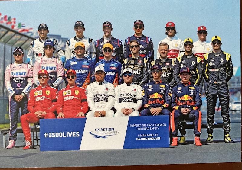 F1 日本グランプリ 2019 10月10日(木) ピットウォーク参加証