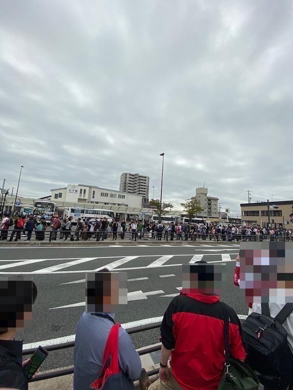 F1 日本グランプリ 2019 10月11日(金) 白子駅