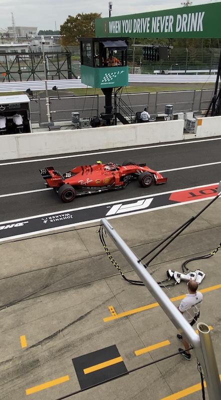 F1 日本グランプリ 2019 友人からの写真2