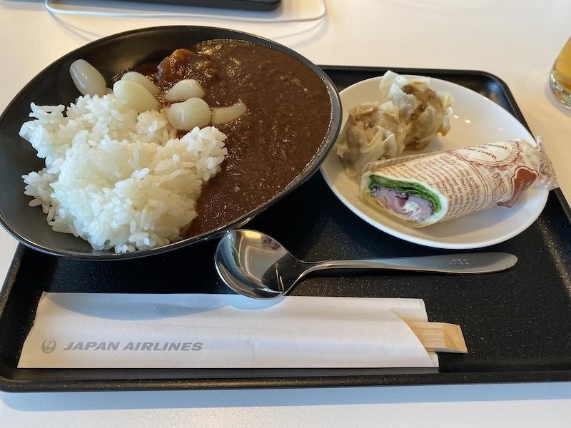 成田空港 第2ターミナル 本館 サクララウンジ カレー