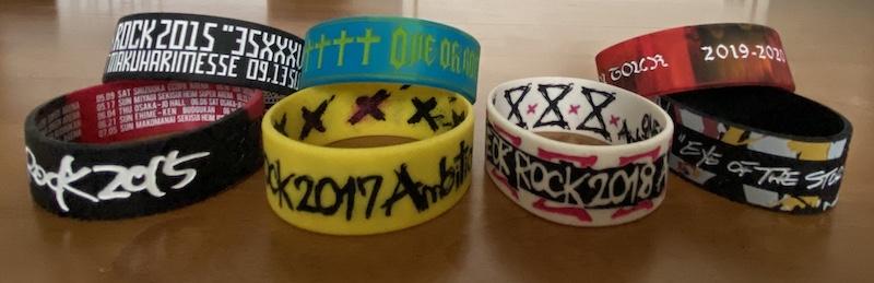 ONE OK ROCK リストバンド
