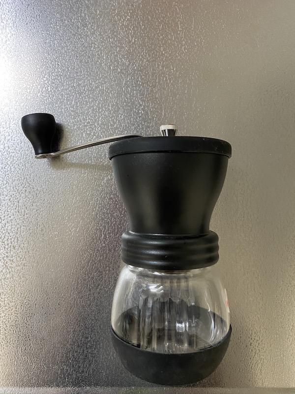 HARIO(ハリオ)手挽き コーヒーミル 全体