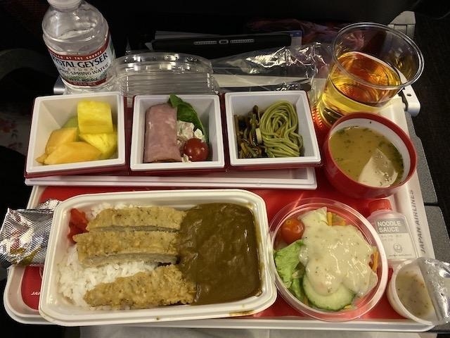 JAL JL009 機内食 メインミール