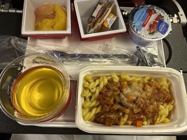 JAL JL009 機内食 軽食