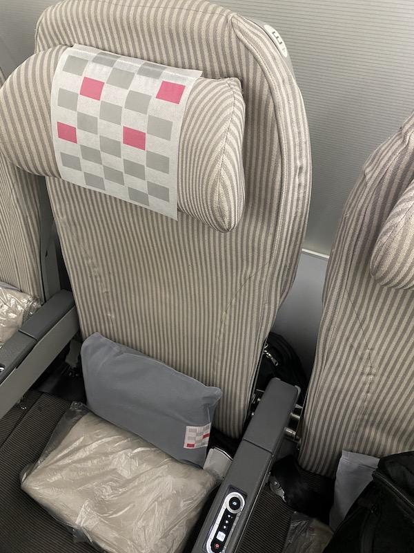 JAL JL746 エコノミークラスシート