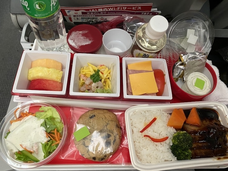 JAL JL746 機内食