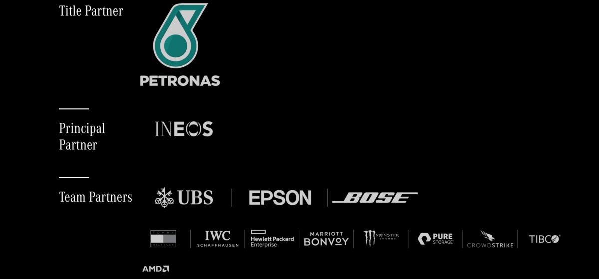 Mercedes AMG F1 Partners