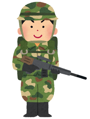 兵隊イメージ図