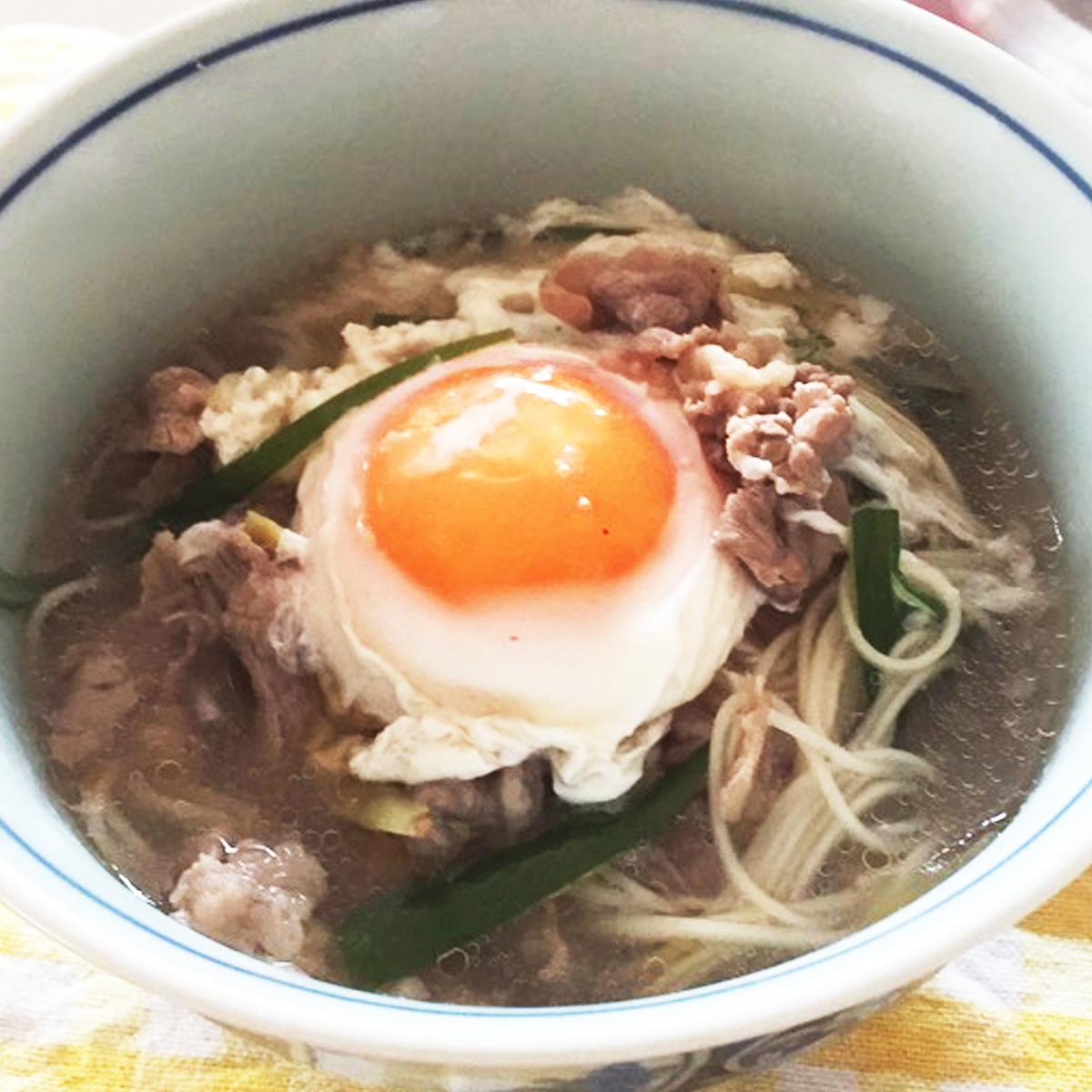 中国の祝い事で食べる長寿麺