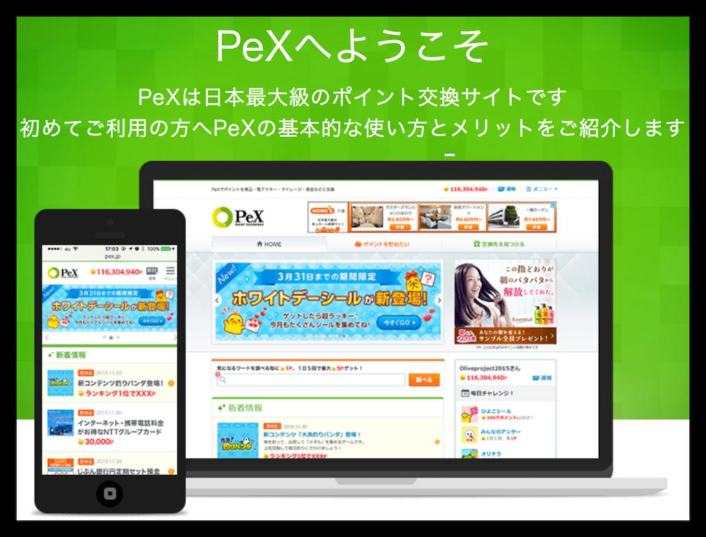 PeXの紹介