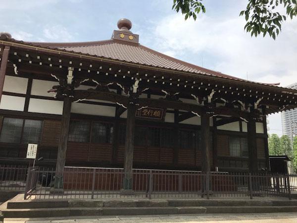 新馬場、願行寺、本堂