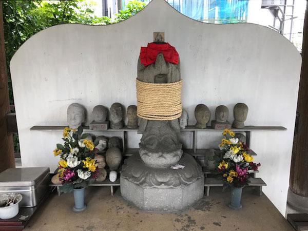 願行寺、しばられ地蔵