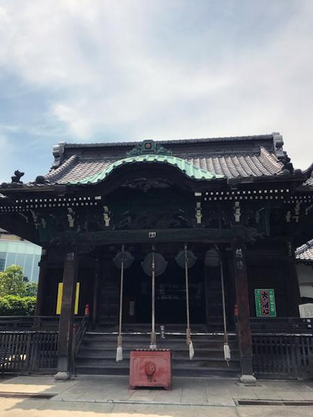 品川、海雲寺、千躰荒神堂拝殿