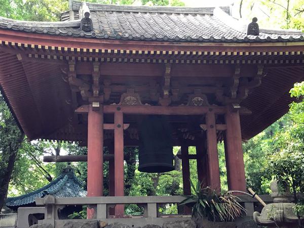 品川寺鐘楼