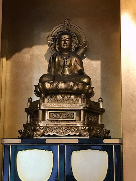 和光市、地福寺の本堂の仏像