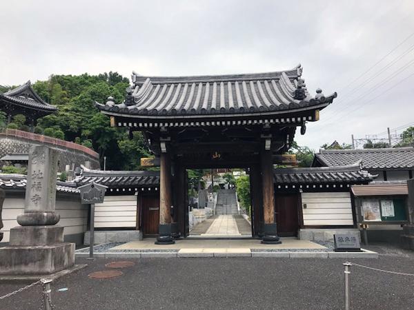 地福寺の山門