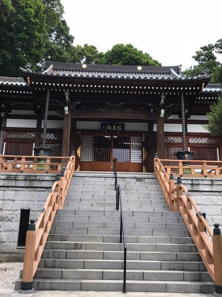和光市、地福寺の本堂