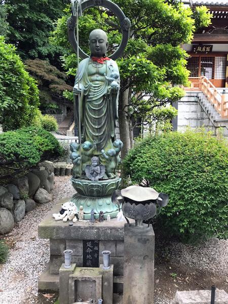和光市、地福寺の延命地蔵