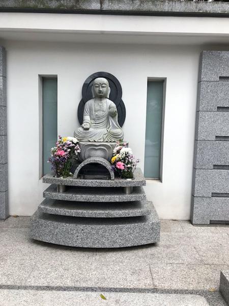 和光市、地福寺のお地蔵さん