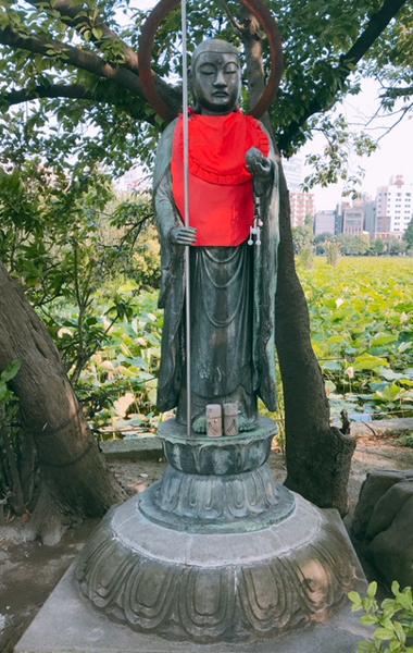 上野公園弁天堂のお地蔵さん