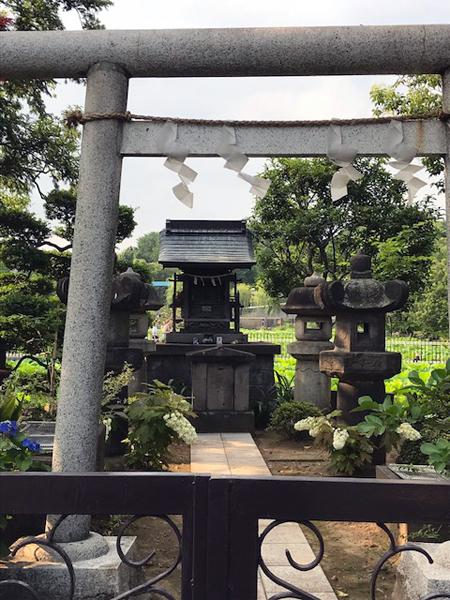 上野公園不忍池聖天堂