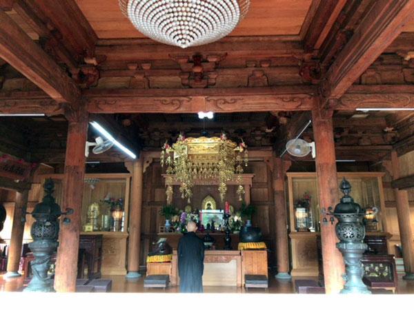 台北、臨済護国禅寺,大雄宝殿