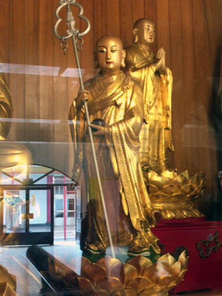 台北、臨済護国禅寺,大雄宝殿お堂