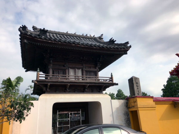 台湾、臨済護国禅寺、山門