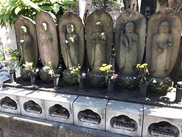 北千住、金蔵寺、六地蔵