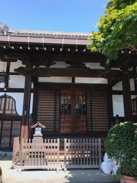 北千住、金蔵寺、本堂