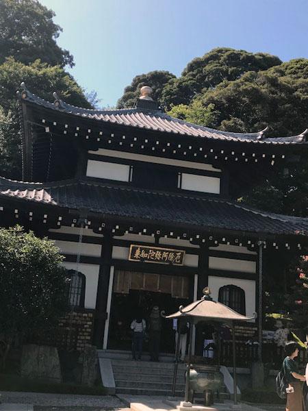 鎌倉長谷寺の阿弥陀堂